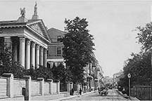 Vilna: Zawalna Street